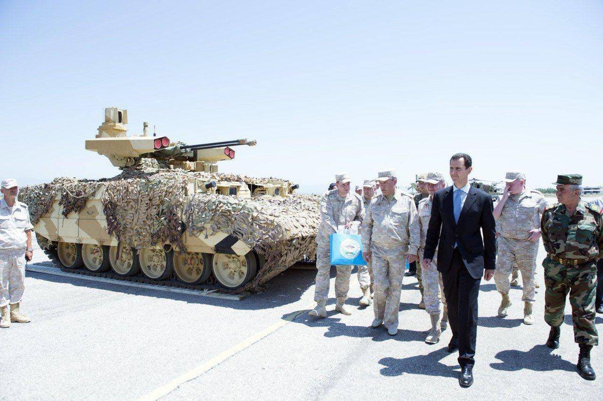 アサド大統領とターミネーター2