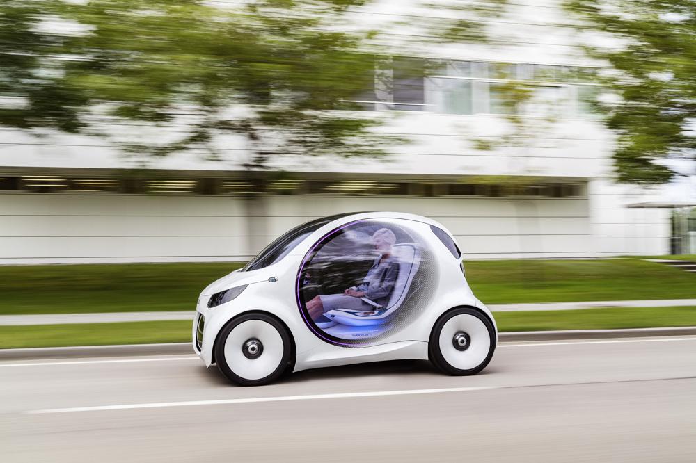 メルセデス「Smart Vision EQ Fortwo」