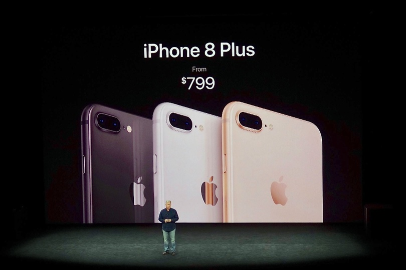 iPhone8の発表