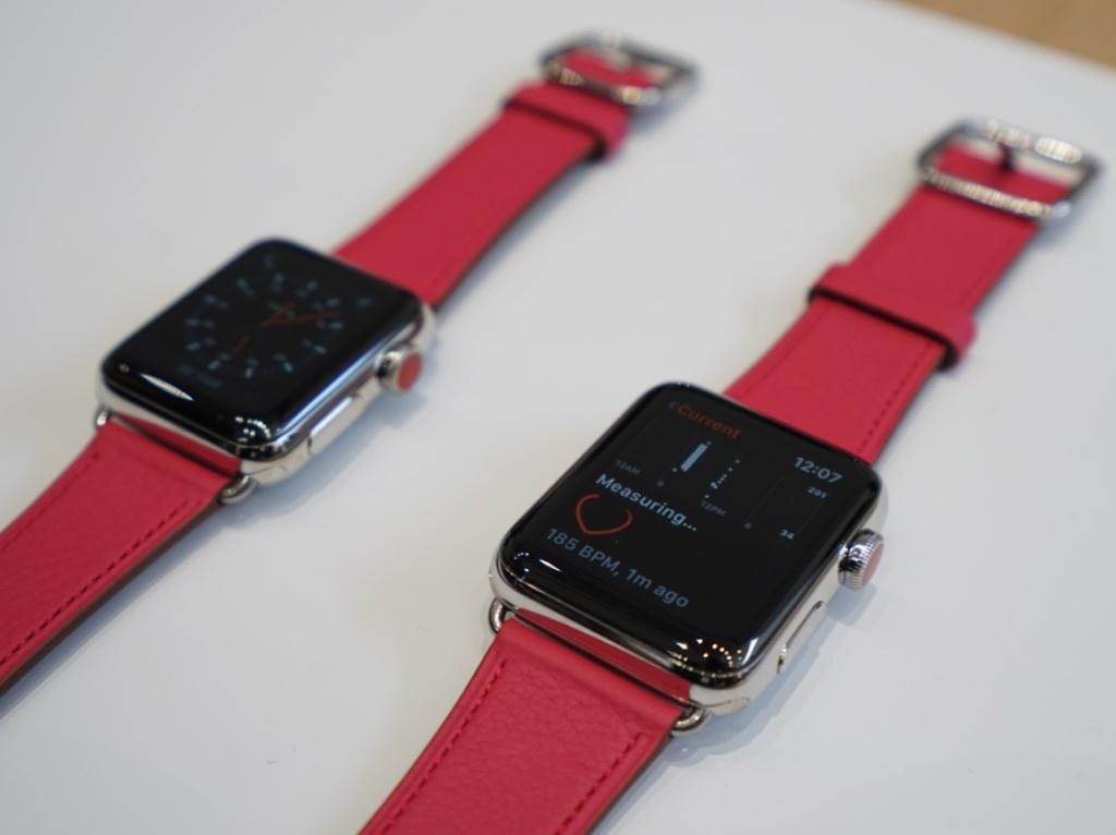 Apple Watch Series3のセルラーモデル
