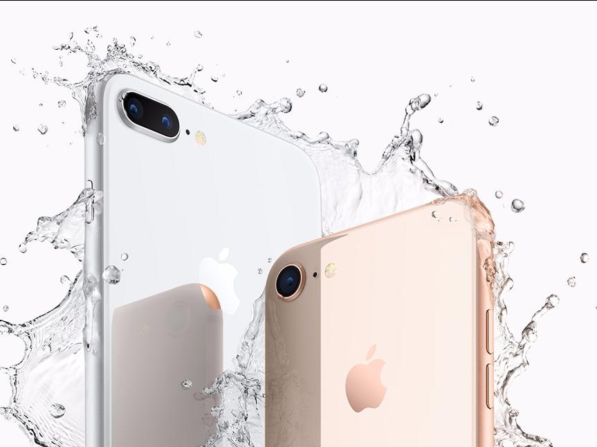 iPhone 8と iPhone 8 Plus