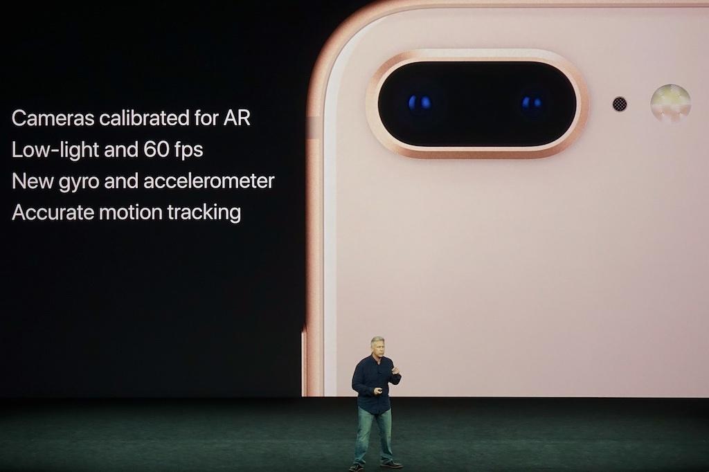 iPhone 8のAR