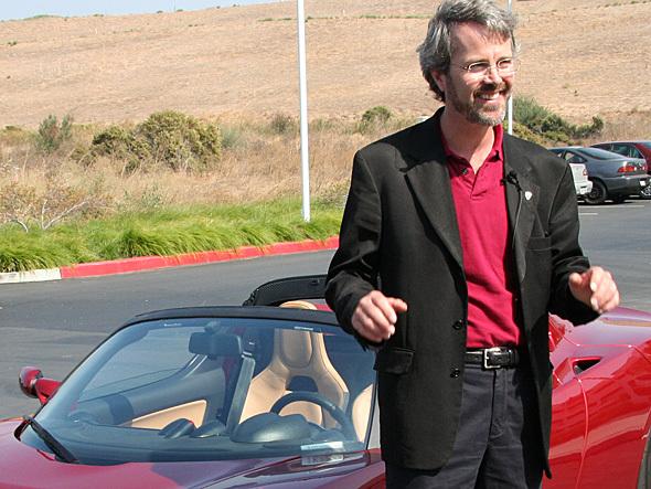 Martin Eberhard, cofounder of Tesla