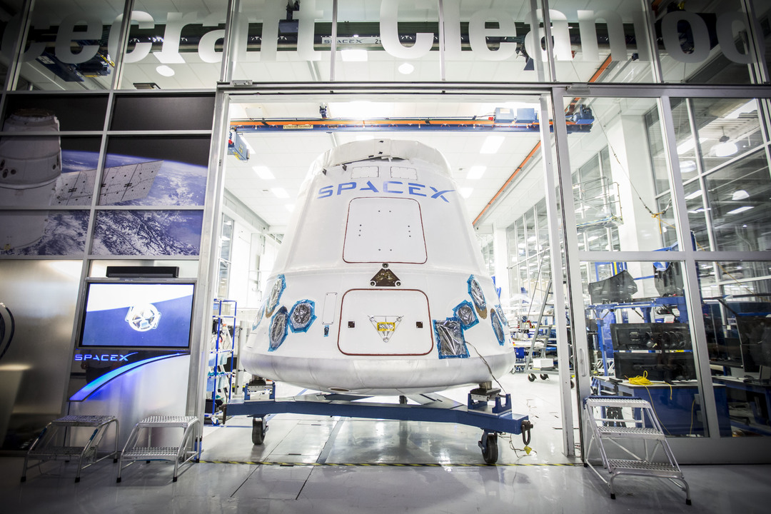 Space X's Dragon spacecraft