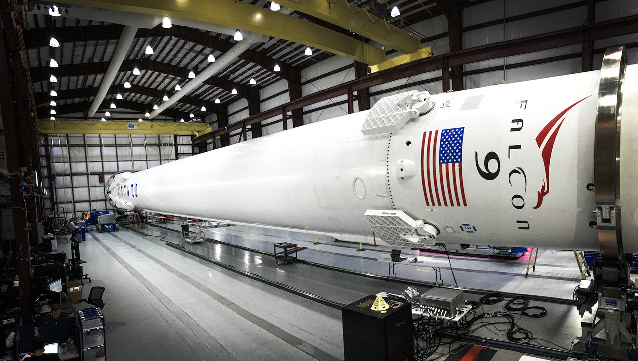 Space X's Falcon 9 rocket