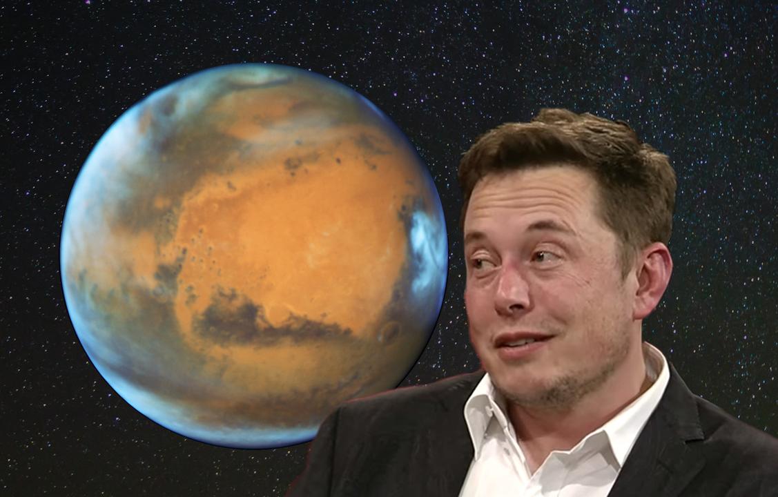 火星とマスク