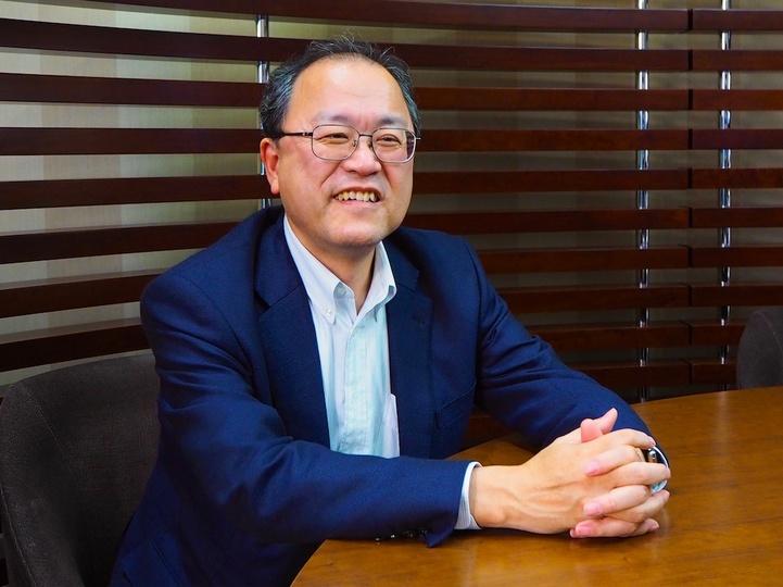 KDDIの田中孝司社長。