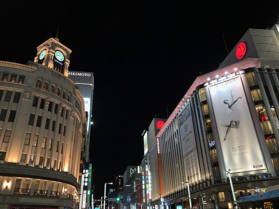 iPhone 8 Plusで撮影した夜景