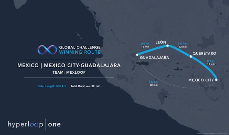 メキシコ、メキシコシティ~グアダラハラ間