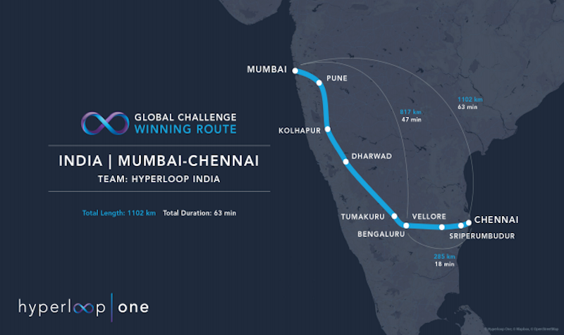 インド、ムンバイ~チェンナイ