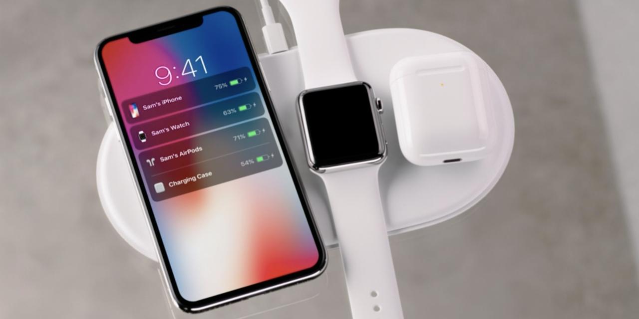 アップルのワイヤレス充電器「AirPower」
