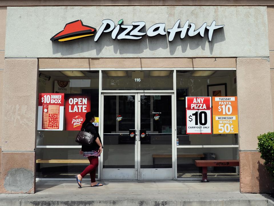 ピザハットの店舗