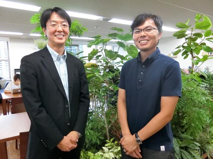 古賀社長と作村さん