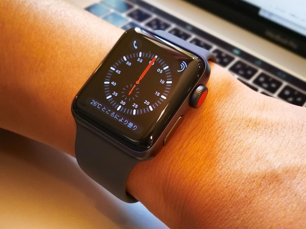 セルラー版Apple Watchシリーズ3
