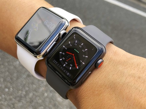Apple Watchシリーズ2とシリーズ3
