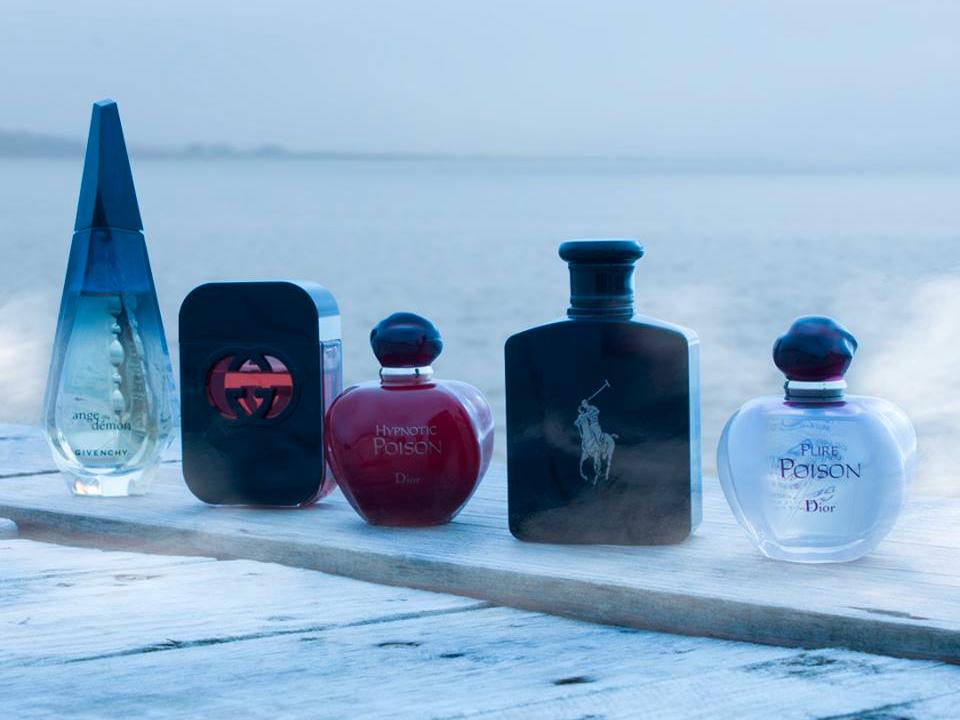 ジバンシー、グッチ、クリスチャン・ディオール、ラルフ・ローレンの香水