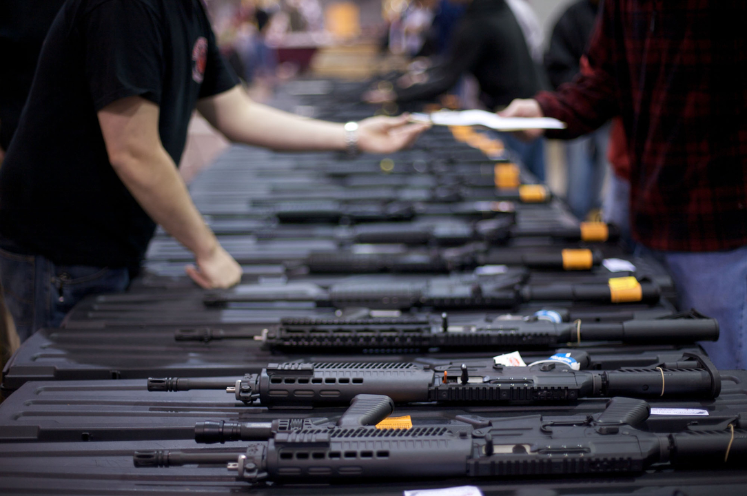 たくさんの銃