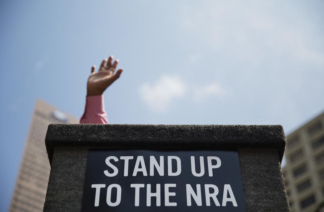 NRA反対派の集会