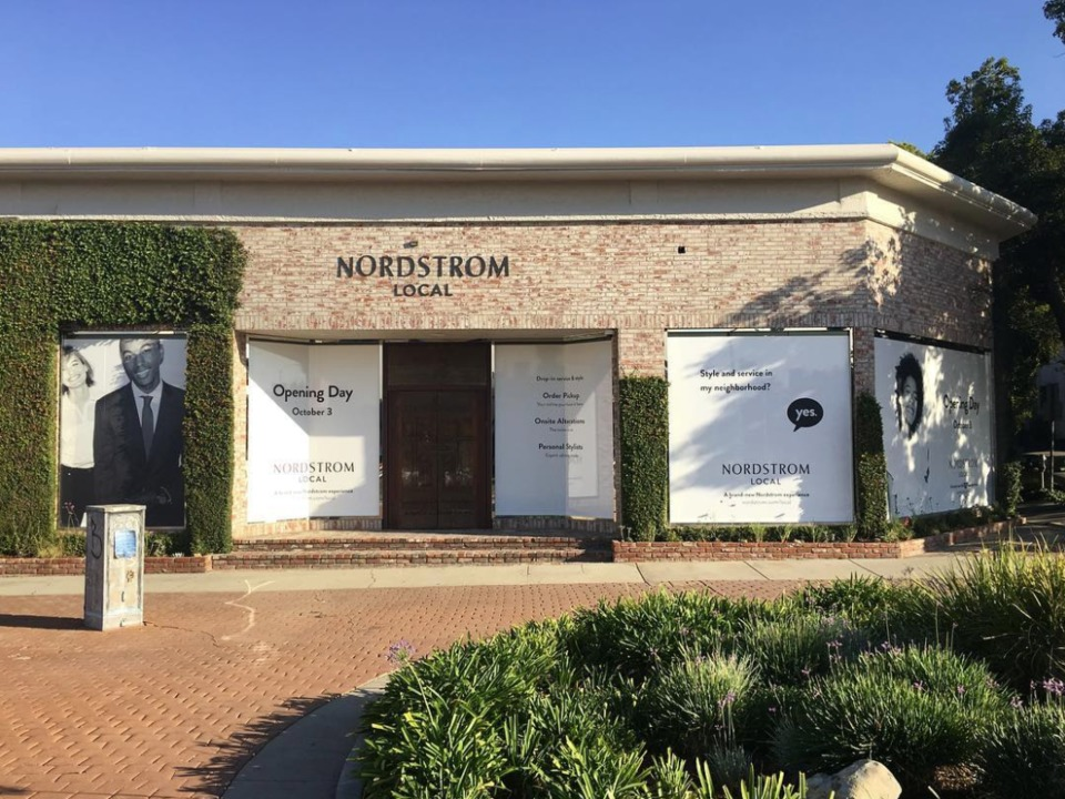 ノードストロームの新店舗ノードストローム・ローカル