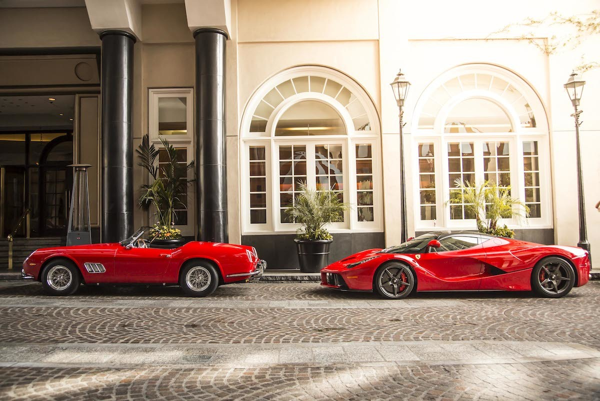 フェラーリ 250 カリフォルニアとラ フェラーリ