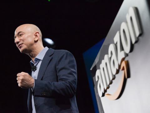 アマゾンのCEOジェフ・ベゾス(Jeff Bezos)氏
