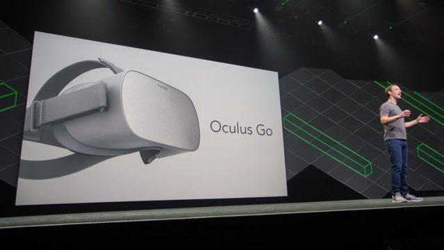 VRのオキュラス、199ドルで一体型「Oculus Go」を来年発売、 Riftも値下げを決定[Oculus Connect 4レポ]