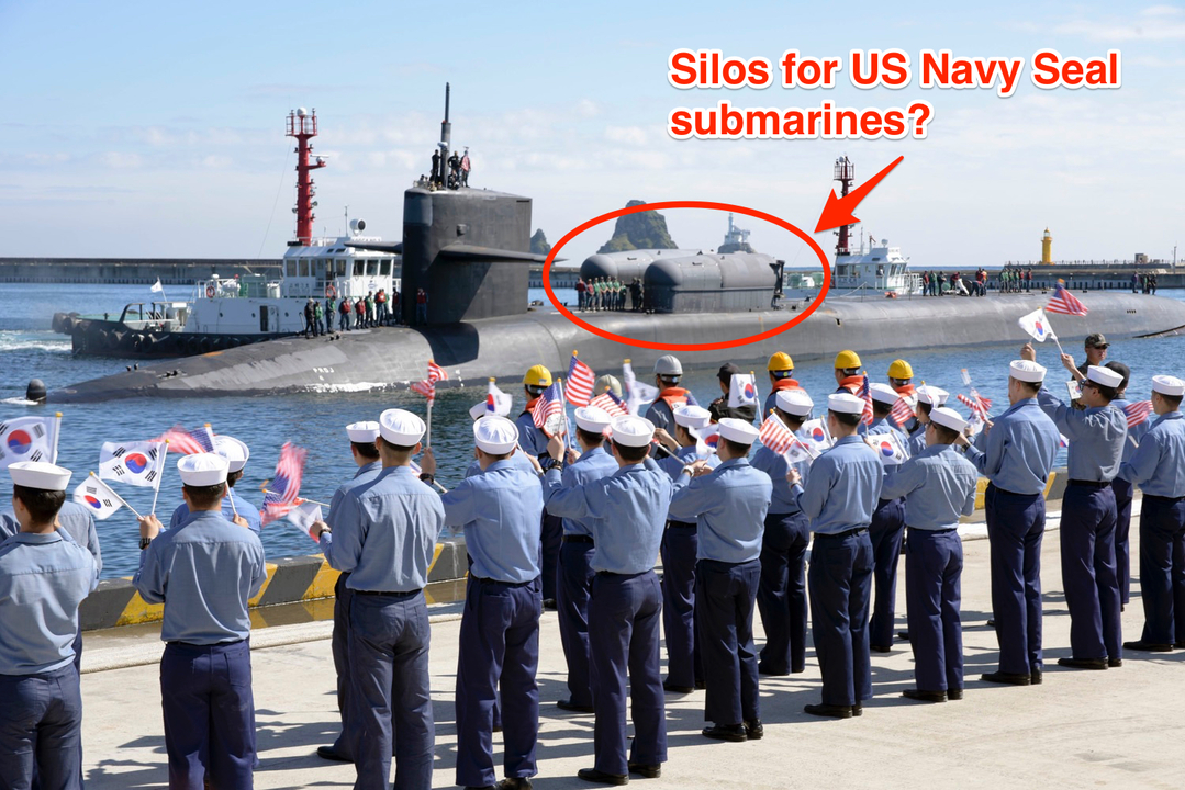 シールズの小型潜水艇らしきもの