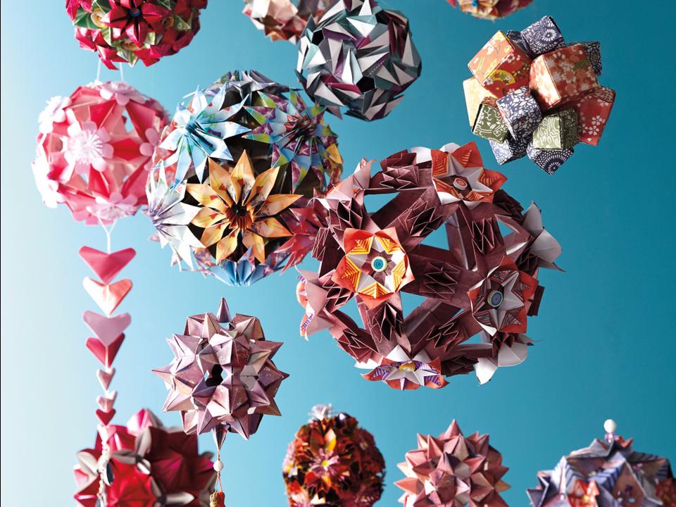 折り紙のオーナメント
