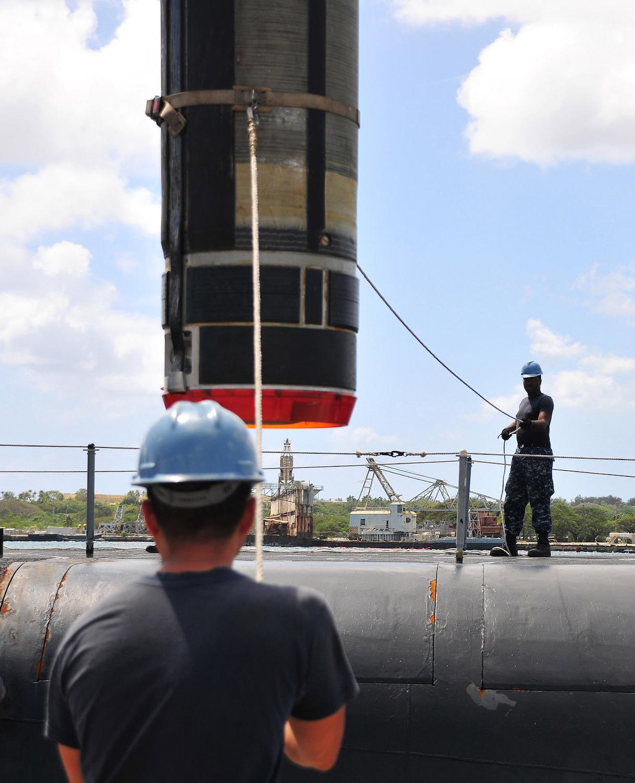 巡航ミサイル潜水艦への転換作業