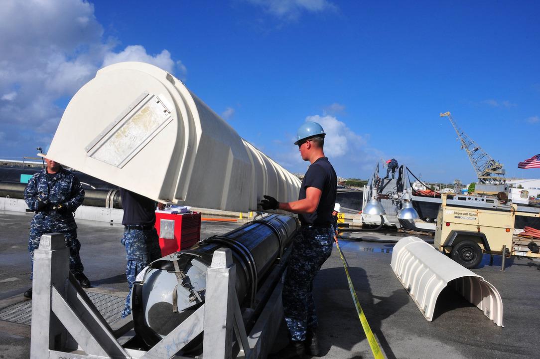 巡航ミサイル「トマホーク」
