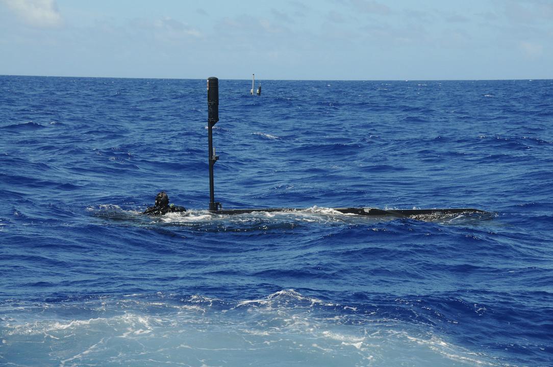 シールズの小型潜航艇