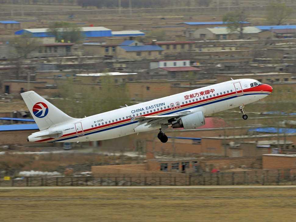中国東方航空の旅客機