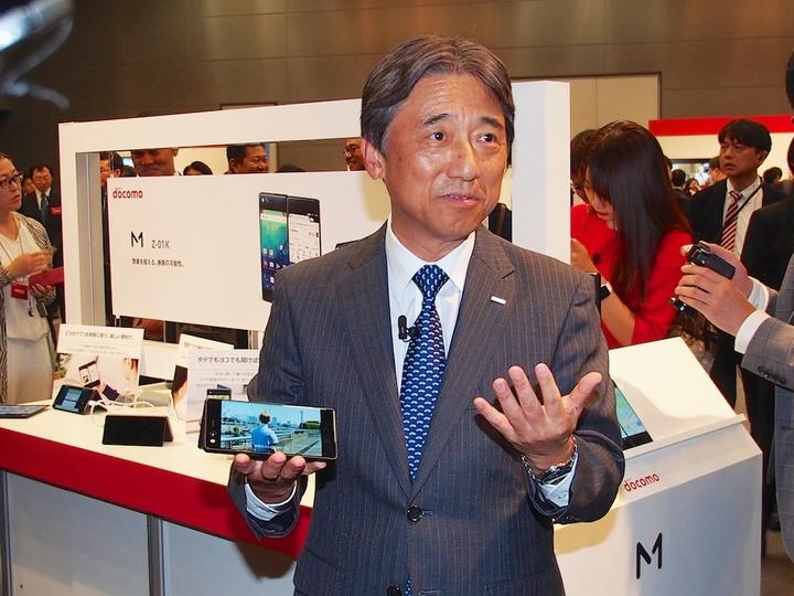 NTTドコモの吉澤社長