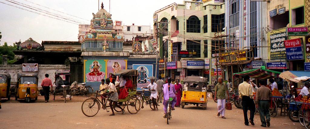 インド街並み