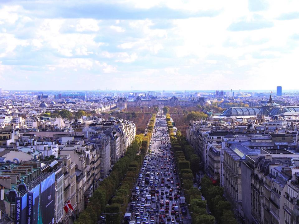 フランス街並み