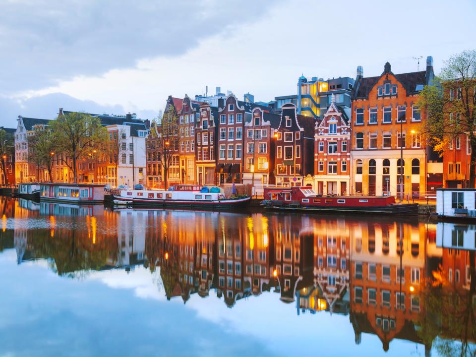 オランダ街並み