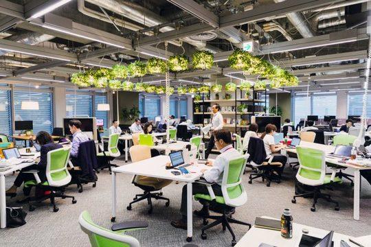 内田洋行のオフィススペース