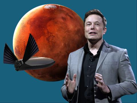 スライド全36枚で見る、イーロン・マスク氏の最新の火星移住計画