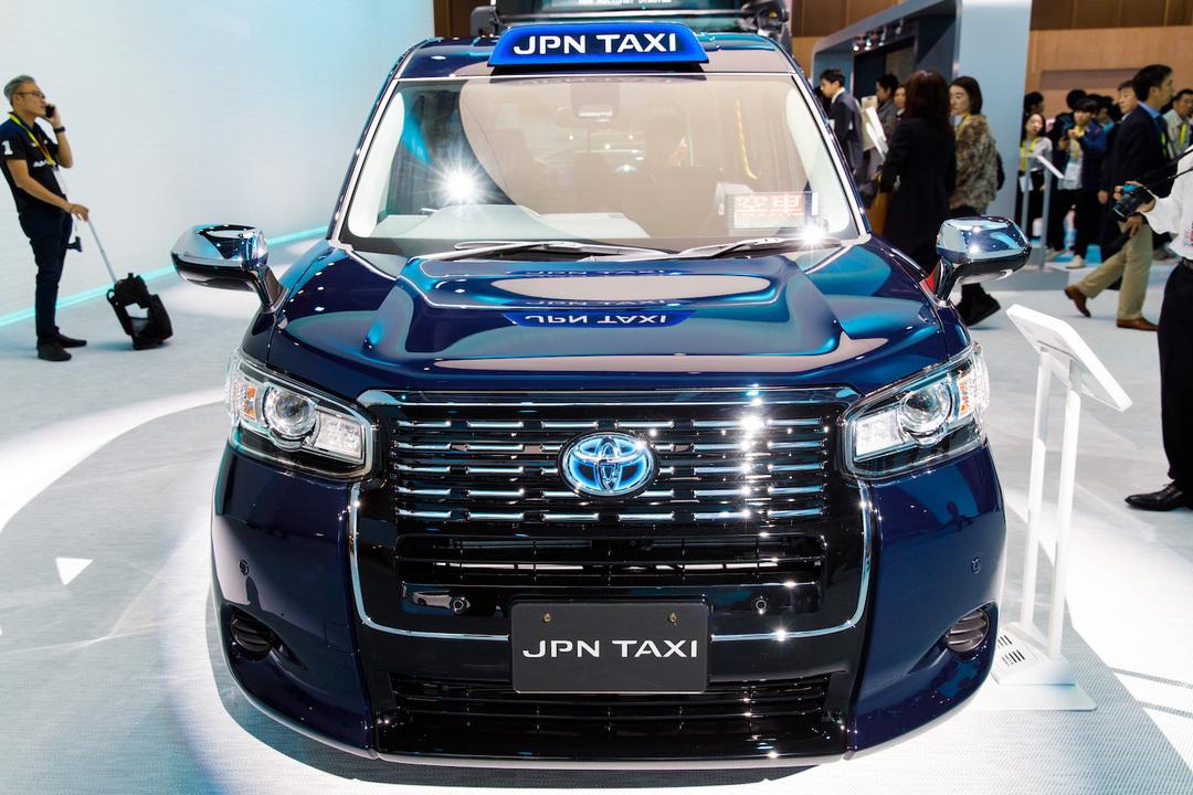 トヨタの「JPN TAXI」(ジャパンタクシー)