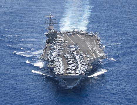 """異例の太平洋3隻展開、ニミッツ級空母は何を""""運んで""""いるのか?"""