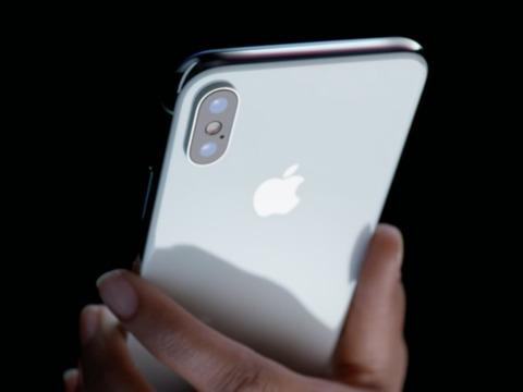 アップルの最新主力製品iPhone X