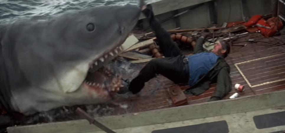 3位:1975年公開『ジョーズ』(原題『Jaws』)
