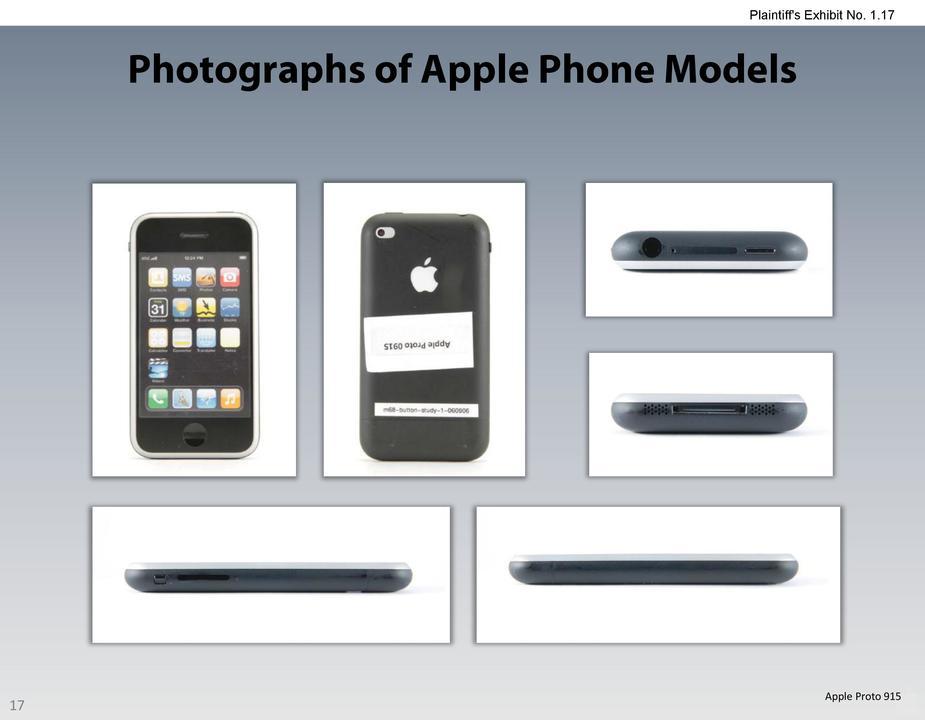 iPhoneのプロトタイプ画像