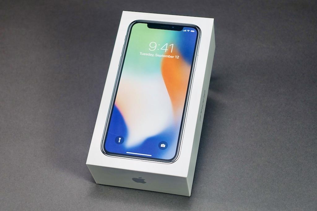 iPhone Xの外箱