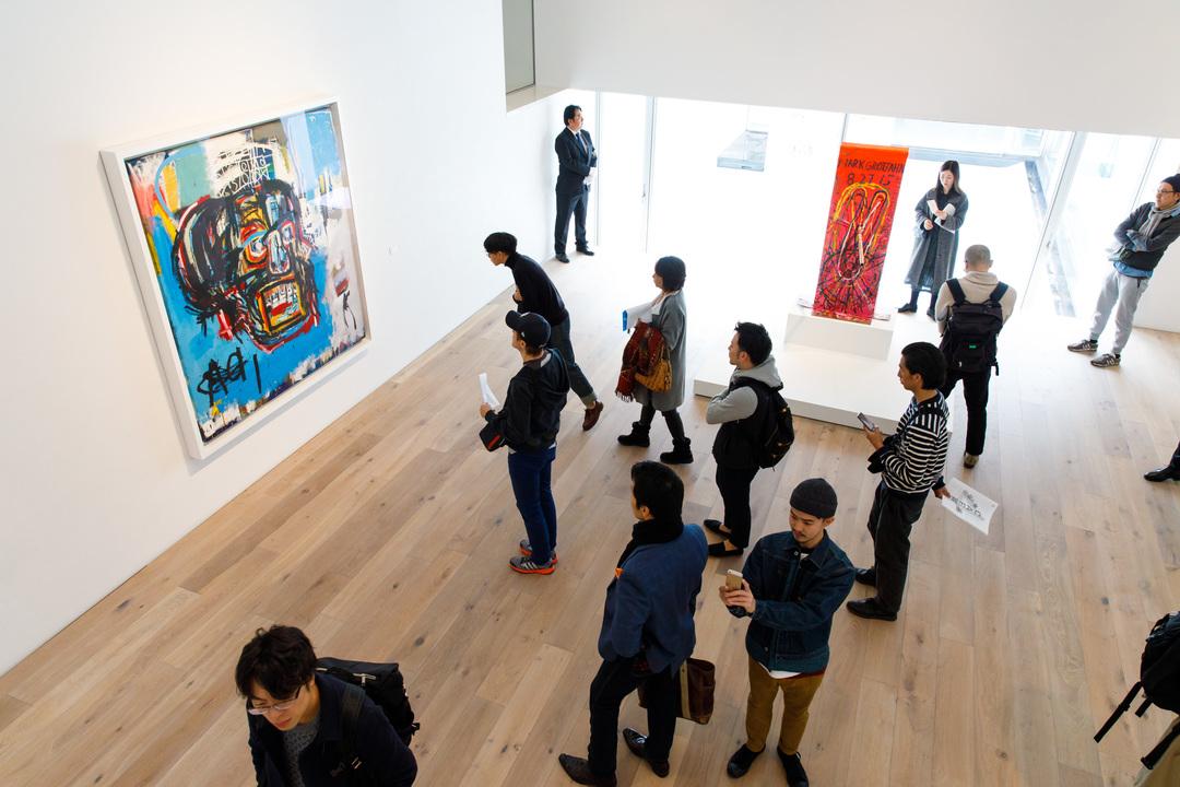 前澤氏のコレクションが展示された部屋