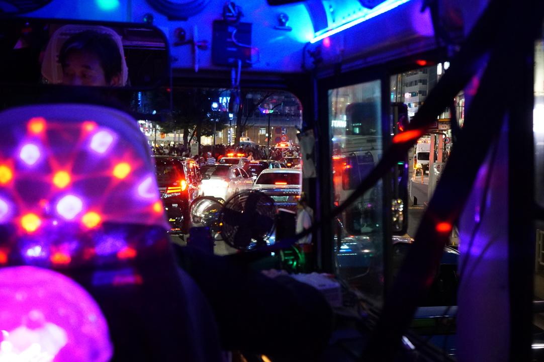 大渋滞の渋谷