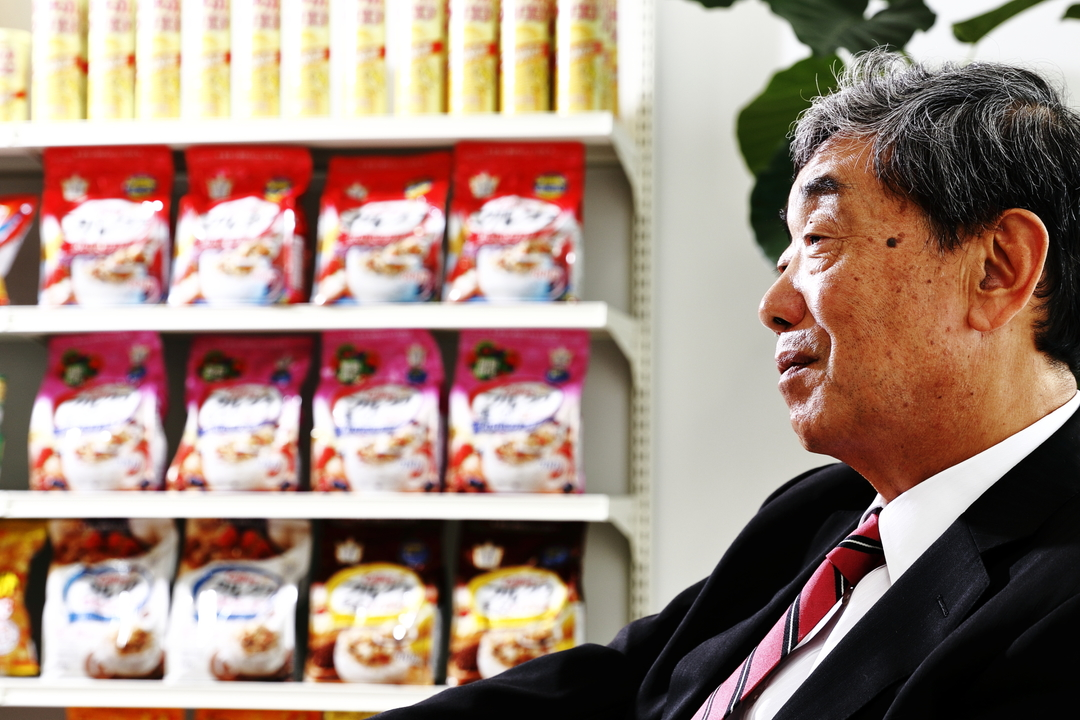 カルビー松本会長