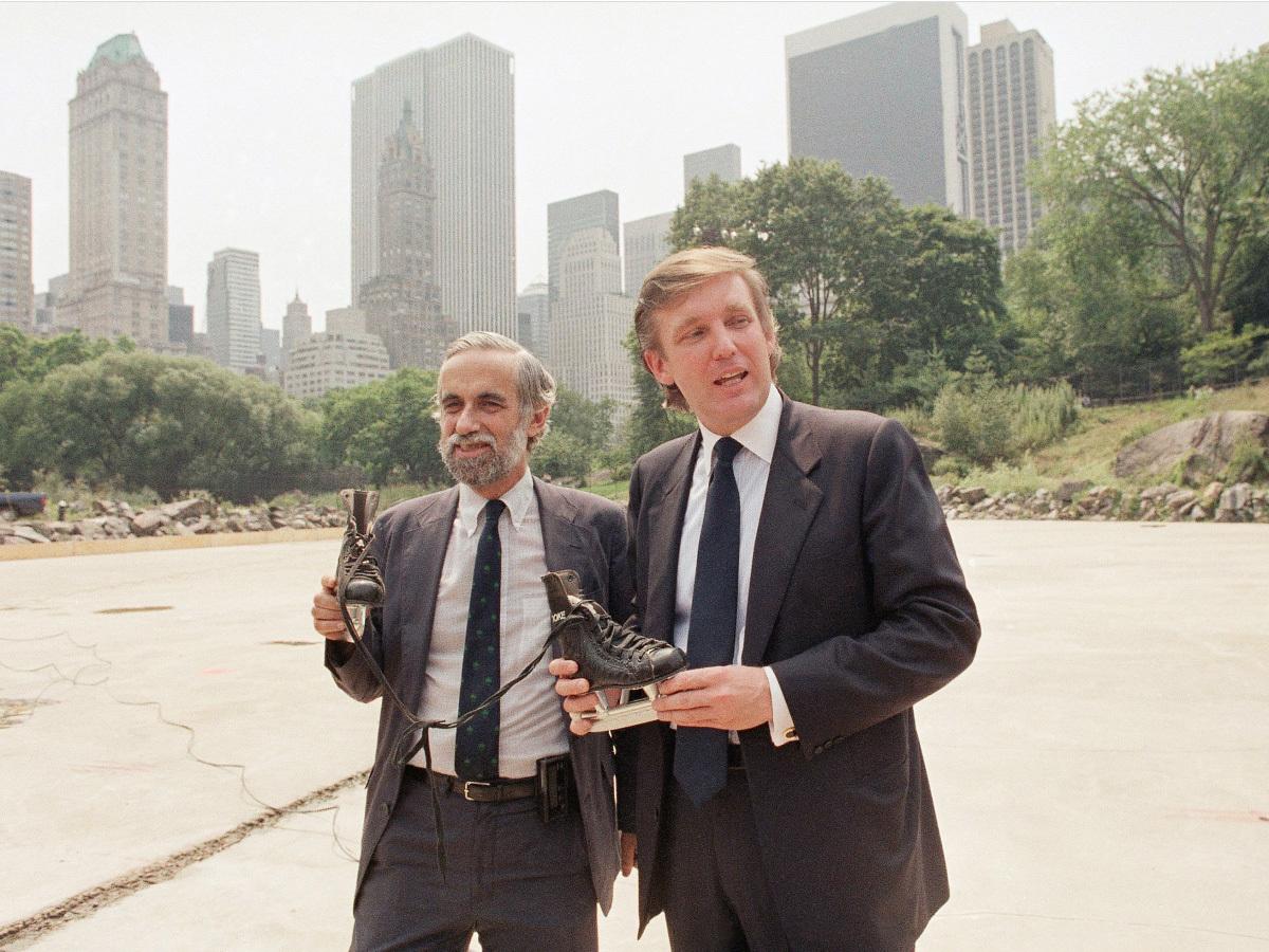 トランプ氏とニューヨーク市の公園監督者