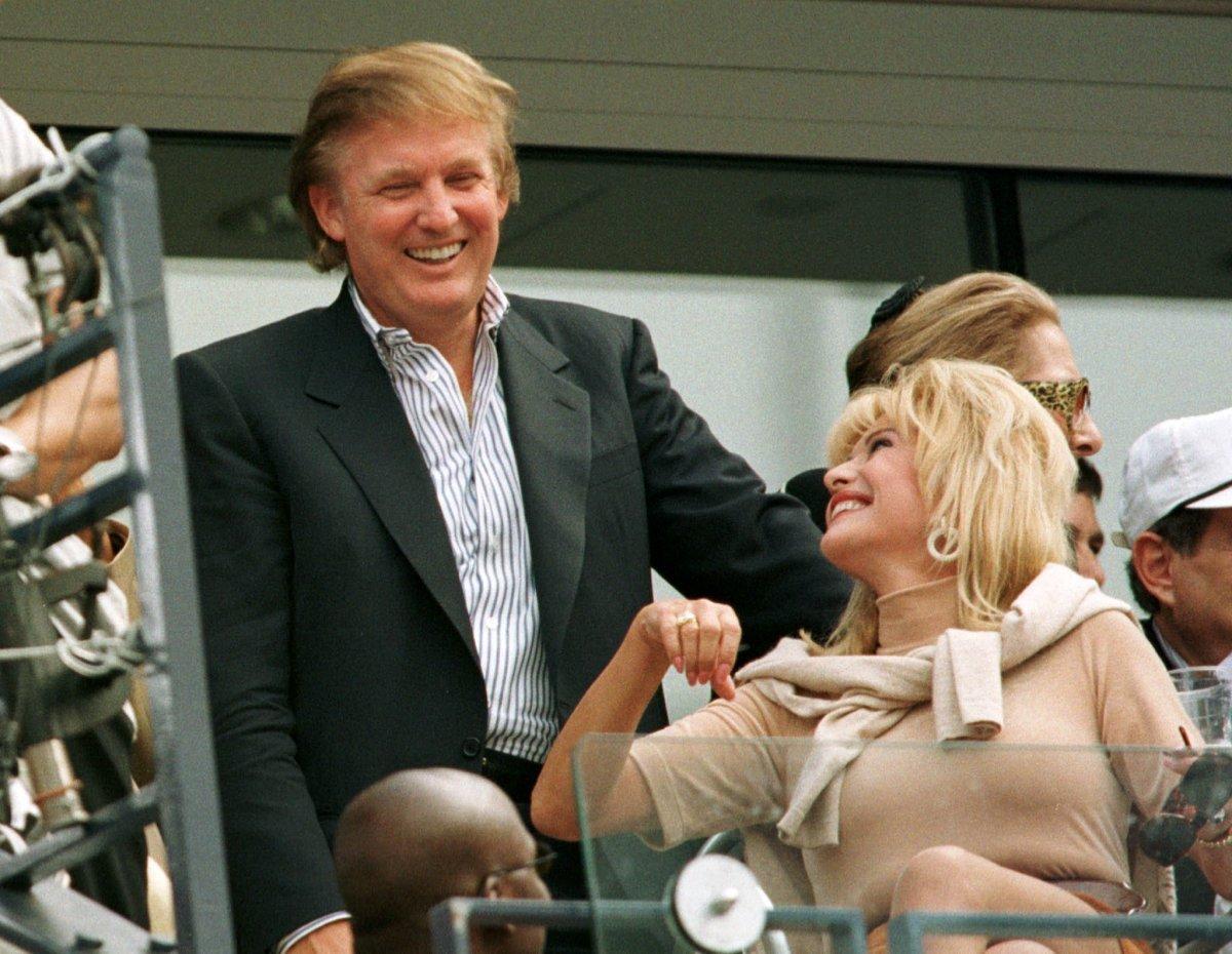 トランプ氏と元妻