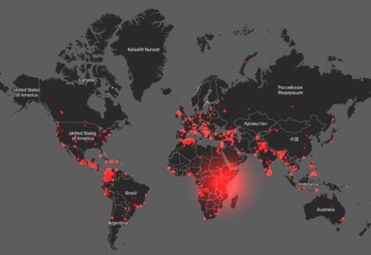 世界地図で見る、過去20年で発生したテロ攻撃とその被害   Business ...